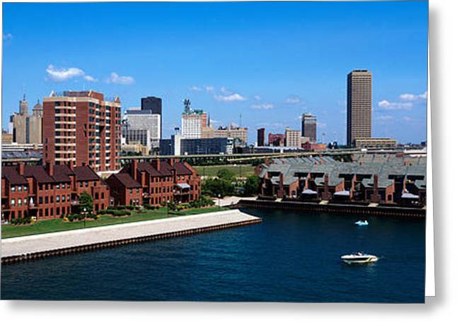 Residential District Greeting Cards - Buffalo Ny Greeting Card by Panoramic Images
