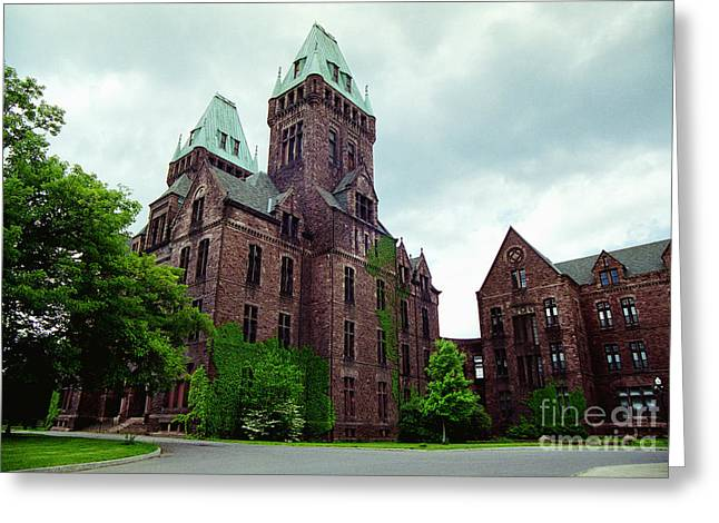 Psychiatric Greeting Cards - Buffalo Psychiatric Center Greeting Card by Tom Brickhouse