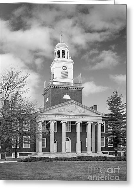 Great Gift Ideas Greeting Cards - Buffalo State College Rockwell Hall Greeting Card by University Icons