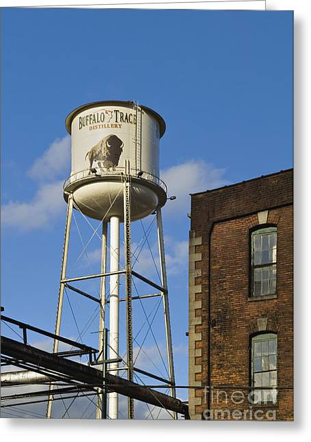 Franklin Greeting Cards - Buffalo Trace - D008739a Greeting Card by Daniel Dempster