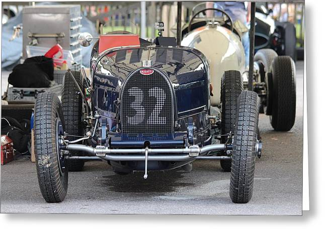 Number 18 Greeting Cards - Bugatti Baby Greeting Card by Robert Phelan