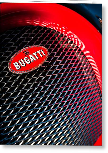 Bugatti Veyron Greeting Cards - Bugatti Veyron Legand -0520c Greeting Card by Jill Reger