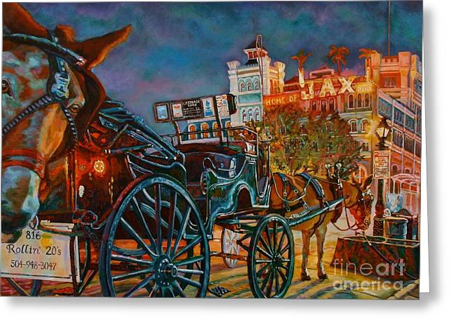 Buggy Whip Greeting Cards - Buggy My Ass  Greeting Card by Lisa Tygier Diamond