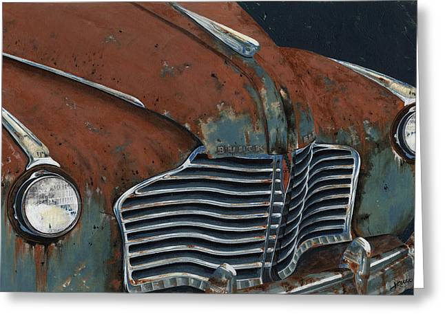 Buick Electra Greeting Card by John Wyckoff