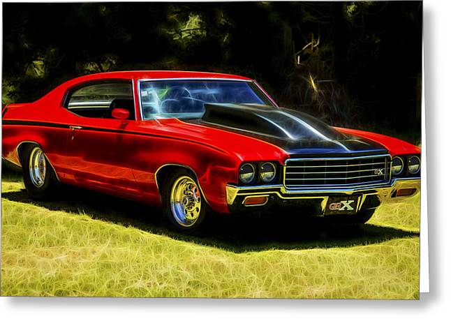 Motography Photographs Greeting Cards - Buick GSX Greeting Card by motography aka Phil Clark