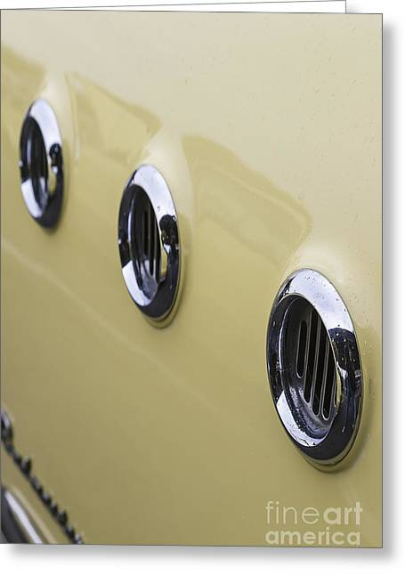 Port Holes Greeting Cards - Buick I Greeting Card by Dennis Hedberg