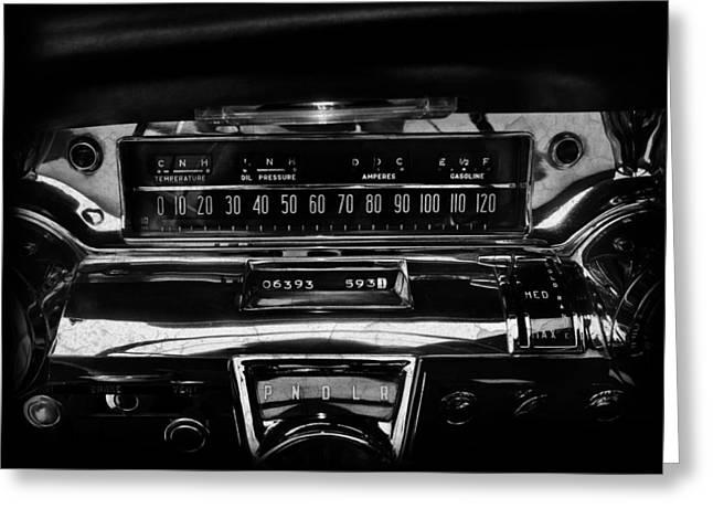 Buick Greeting Cards - Buick Roadmaster Interior Greeting Card by Mark Rogan