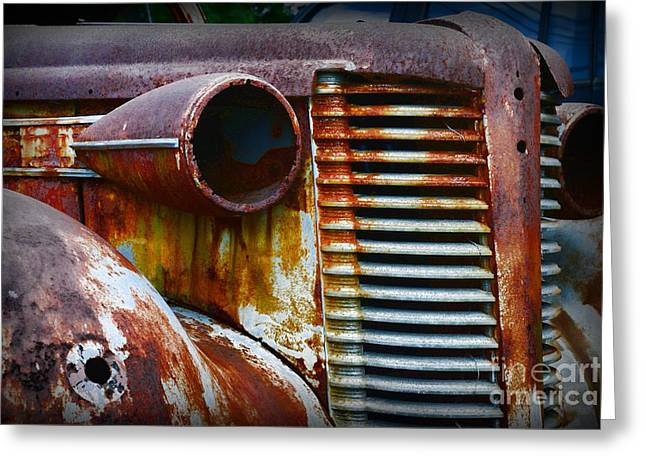 Rusted Cars Greeting Cards - Buick Rust Greeting Card by Paul Ward