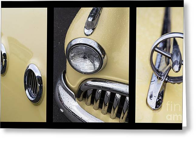 Port Holes Greeting Cards - Buick Triptych Greeting Card by Dennis Hedberg