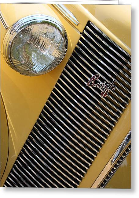 Buick Greeting Cards - Buick8 Greeting Card by Rebecca Cozart