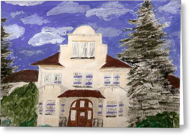 Rob Spencer Greeting Cards - Building 1 Greeting Card by Rob Spencer