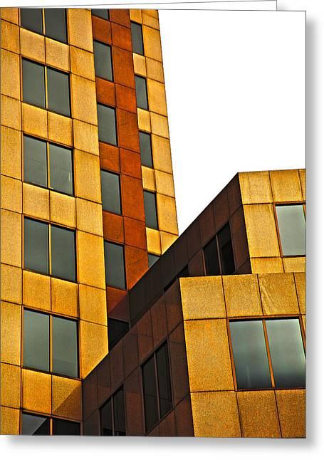 Building Blocks Greeting Card by Karol Livote