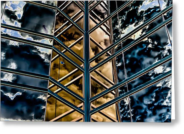 Decor Photography Greeting Cards - Building on Another World Greeting Card by  Onyonet  Photo Studios
