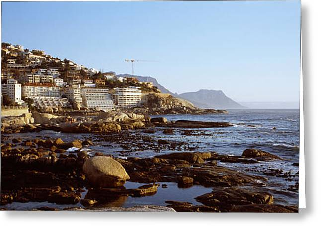 Cape Town Greeting Cards - Buildings At The Waterfront, Bantry Greeting Card by Panoramic Images