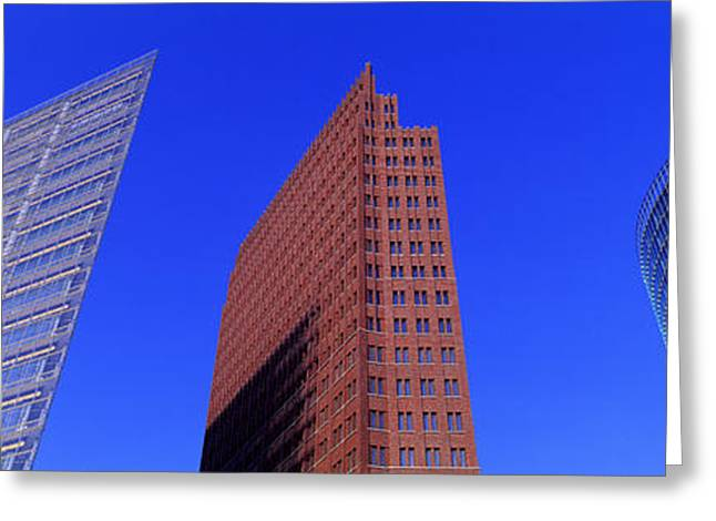 Commercial Photography Greeting Cards - Buildings, Berlin, Germany Greeting Card by Panoramic Images