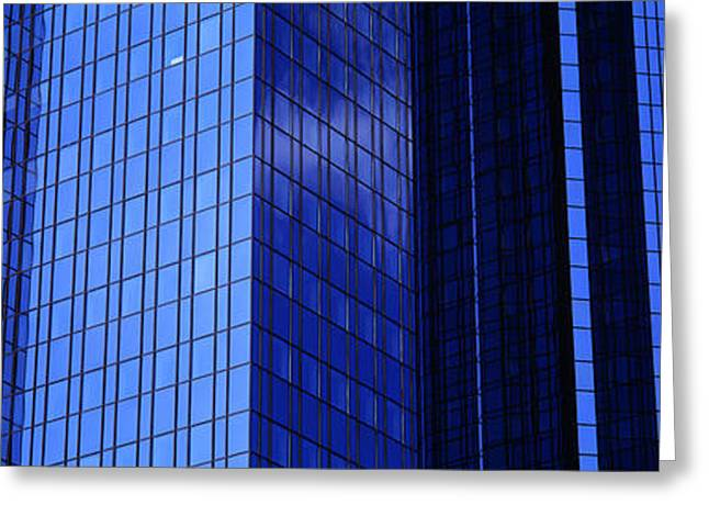Commercial Photography Greeting Cards - Buildings, Frankfurt, Germany Greeting Card by Panoramic Images