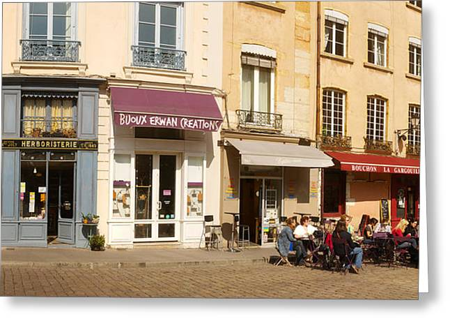Lyon Greeting Cards - Buildings In A City, St. Jean Greeting Card by Panoramic Images