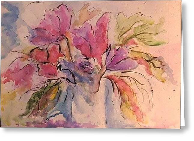 Buket Greeting Cards - Buket Greeting Card by Liudmila Petarus