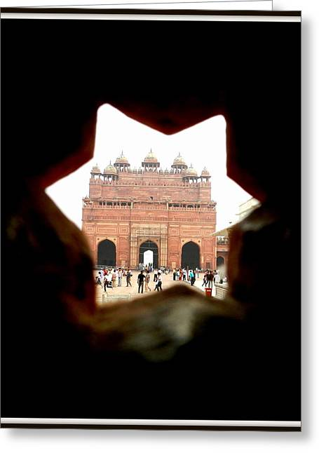 Buland Darwaza Greeting Card by Utkarsh Maheshwari