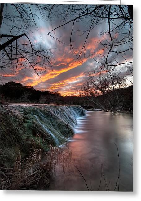 Bull Creek Greeting Cards - Bull Creek Austin TX Greeting Card by Preston Broadfoot