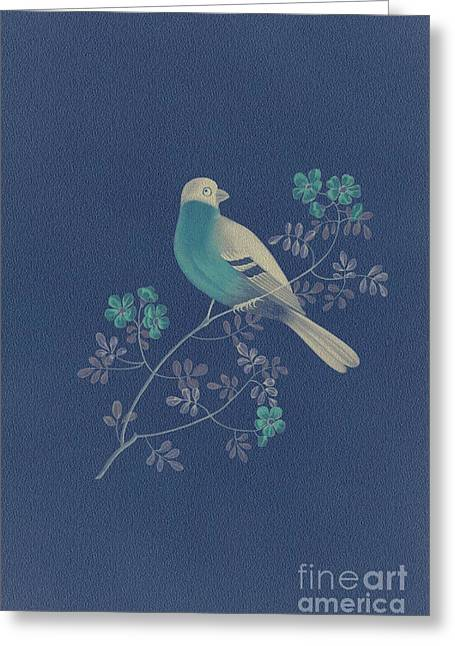 Becky Digital Greeting Cards - Bull Finch-3 PhotoArt Greeting Card by Becky Hayes