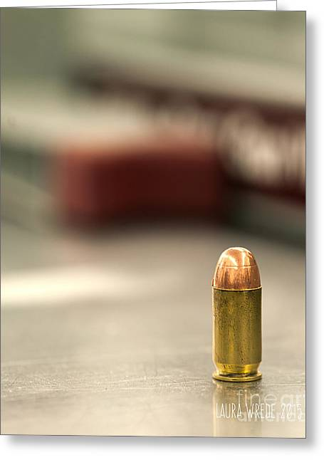 Laura Wrede Greeting Cards - Bullet Art 2 Greeting Card by Artist and Photographer Laura Wrede