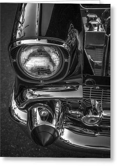 Headlight Greeting Cards - Bullet Bumper Greeting Card by Peter Tellone