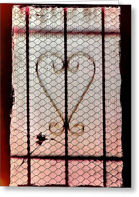Distraught Greeting Cards - Bullet for My Valentine Greeting Card by Sennie Pierson