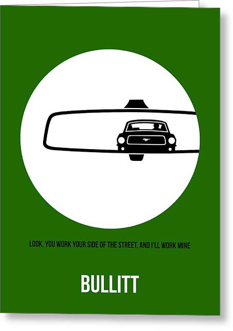 Shows Greeting Cards - Bullitt Poster 2 Greeting Card by Naxart Studio