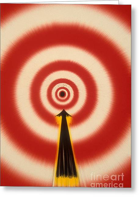 Bullseye Greeting Card by Novastock
