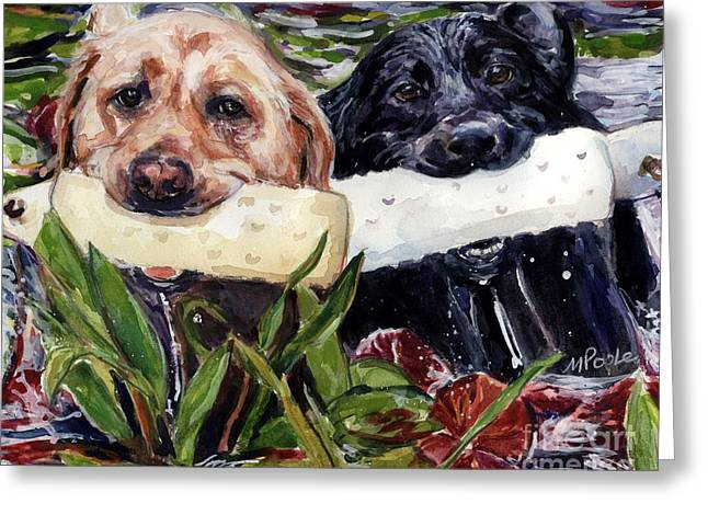 Bumper Greeting Cards - Bumper Bumper Greeting Card by Molly Poole