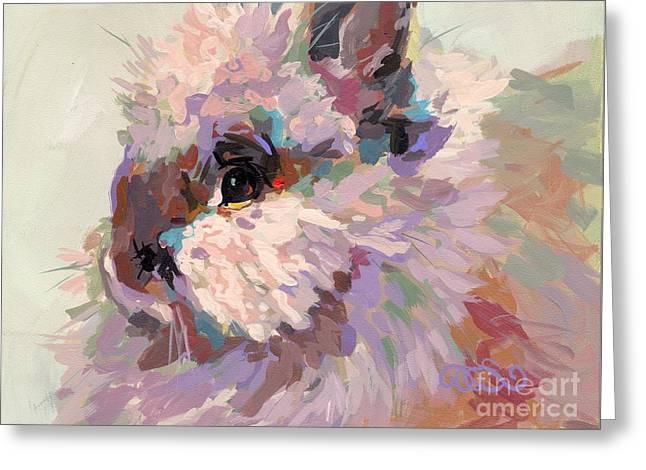 Animal Rescue Greeting Cards - Bun Greeting Card by Kimberly Santini