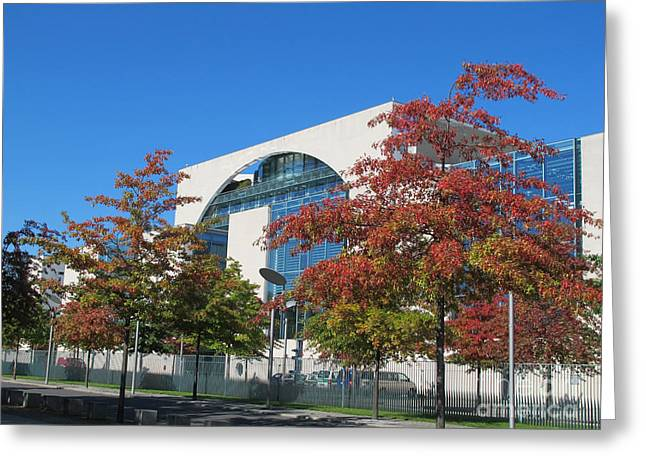 Art Photography Greeting Cards - Bundeskanzleramt Federal Chanellery Greeting Card by Art Photography