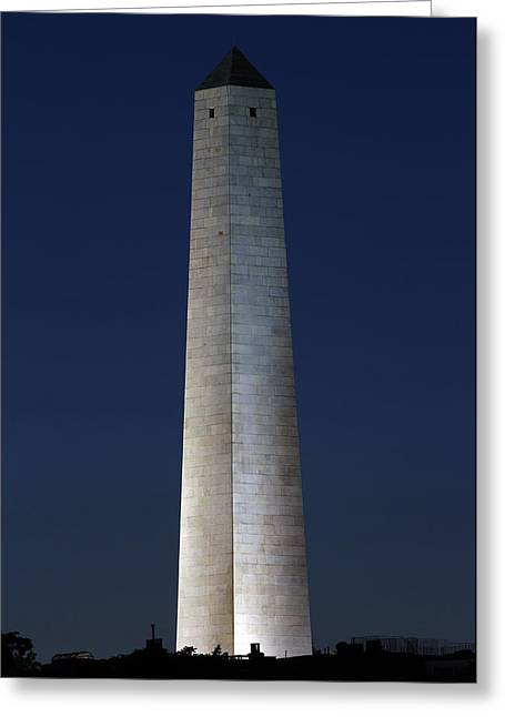 Bunker Hill Greeting Cards - Bunker Hill Monument Greeting Card by Juergen Roth