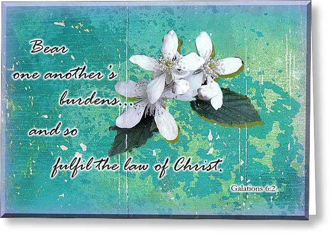 Larry Bishop Photography Greeting Cards - Burden Bearers Greeting Card by Larry Bishop