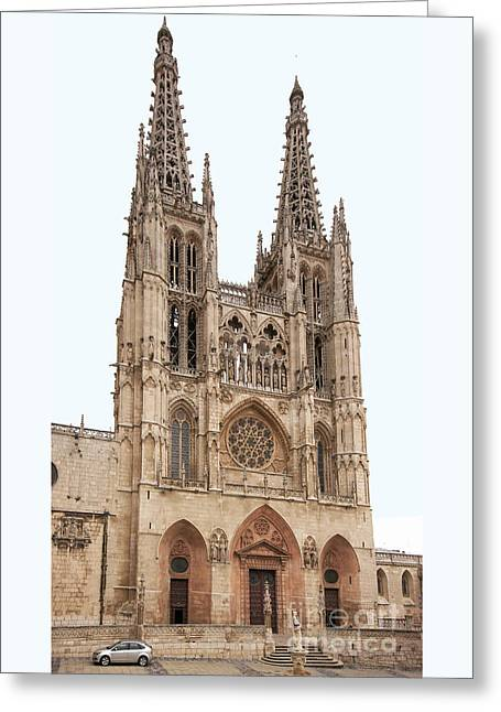 Burgos Cathedral Spain Greeting Card by Rudi Prott