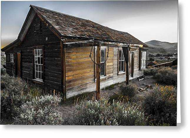Abandoned Houses Greeting Cards - Burkham House Greeting Card by Cat Connor