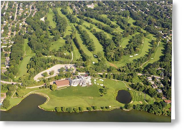 Tennis Club Greeting Cards - Burlington Golf & Country Club, Halton Greeting Card by Bernard Dupuis