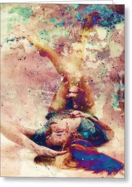 Hidden Desires Greeting Cards - Burning Me Up Greeting Card by Joe Misrasi