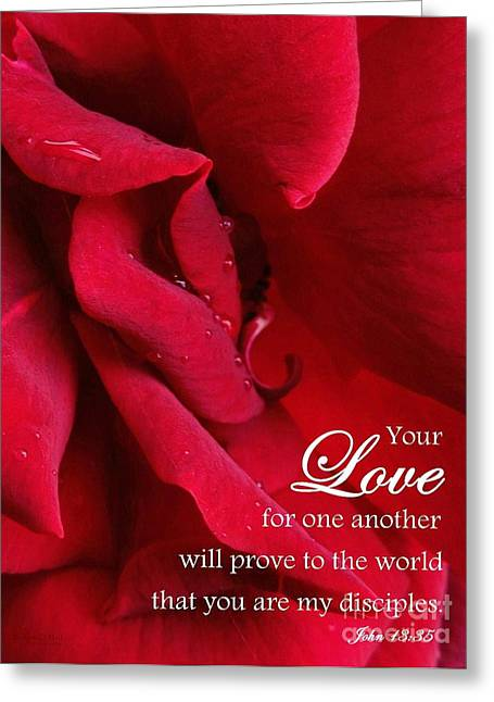 Bible Greeting Cards - Burning Passion - Scripture Greeting Card by Robert ONeil