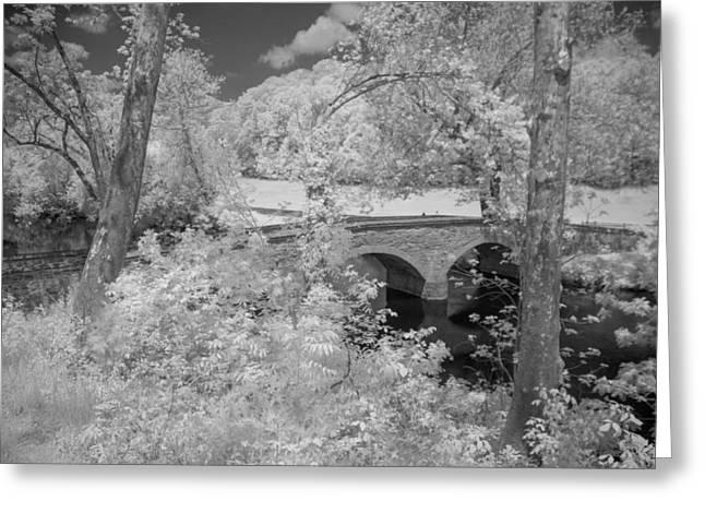 Civil War Site Greeting Cards - Burnside Bridge 0237 Greeting Card by Guy Whiteley