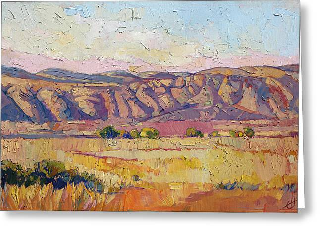 Monterey Greeting Cards - Burnt Summer Greeting Card by Erin Hanson