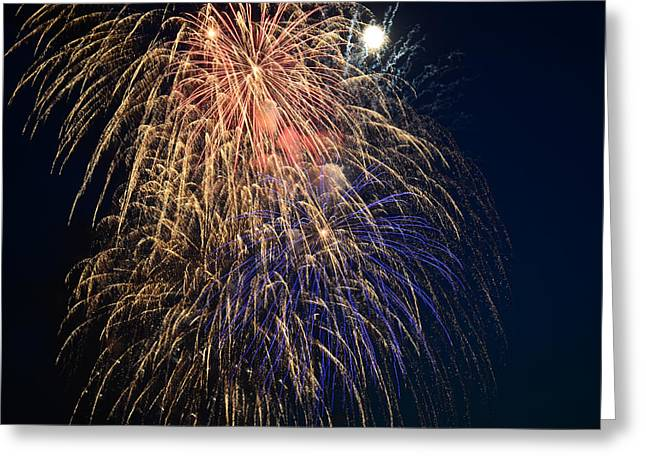 Bursting In Air Greeting Card by Ronda Broatch