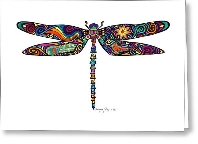Chakra Rainbow Greeting Cards - Bursting in Colour Greeting Card by Tracey Rogers