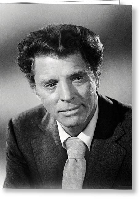 Airports Greeting Cards - Burt Lancaster in Airport  Greeting Card by Silver Screen
