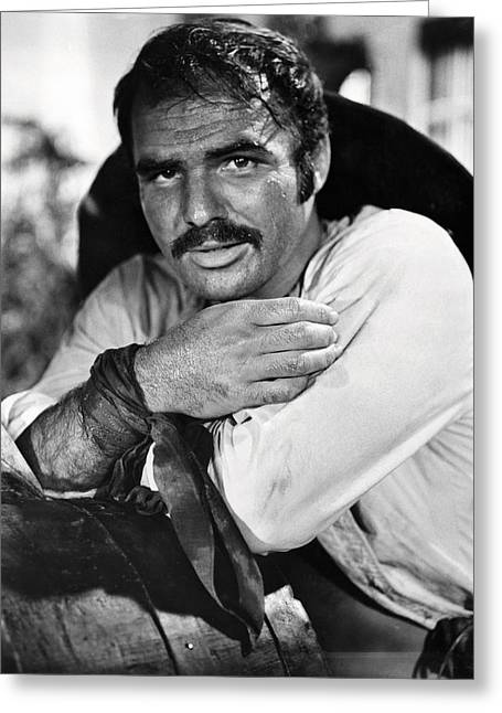 Burt Reynolds Greeting Cards - Burt Reynolds in 100 Rifles  Greeting Card by Silver Screen