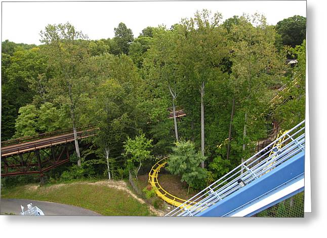Drop Greeting Cards - Busch Gardens - 121213 Greeting Card by DC Photographer