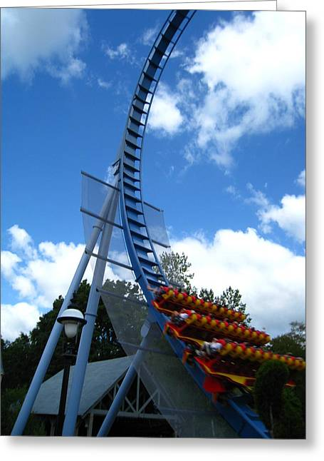Busch Gardens - 121220 Greeting Card by DC Photographer