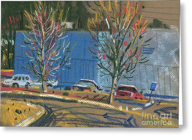 Business Greeting Cards - Business Park Greeting Card by Donald Maier