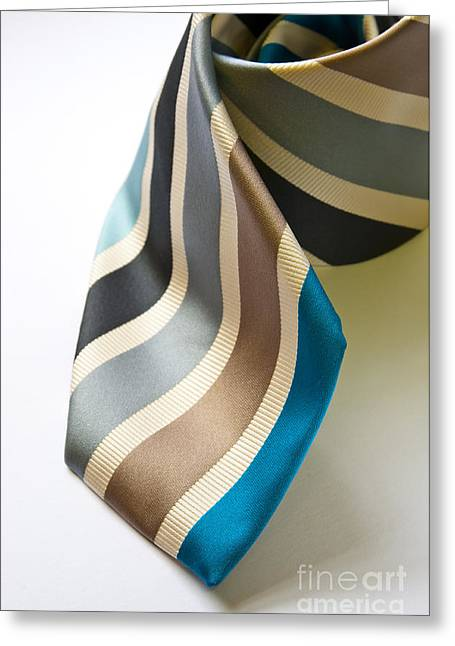 Conservative Greeting Cards - Business Tie Greeting Card by Tim Hester